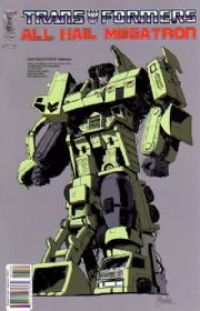 Transformers All Hail Megatron #4 Guidi Retail Variant (2008) IDW Publishing comic book